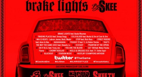"The Game ""Brake Lights"" Mixtape"
