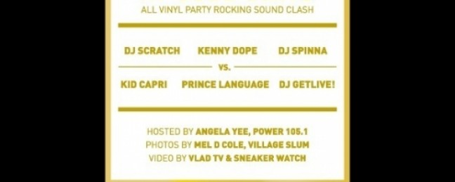 GAME TIME: All Vinyl Party Rocking Sound Clash