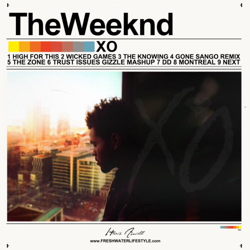 Weeknd Mixtape Covers Graphic Design