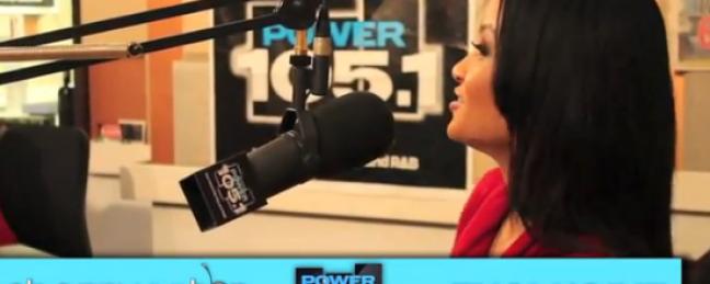Power 105.1's Cherry Martinez Talks Notorious BIG w/ Charli Baltimore