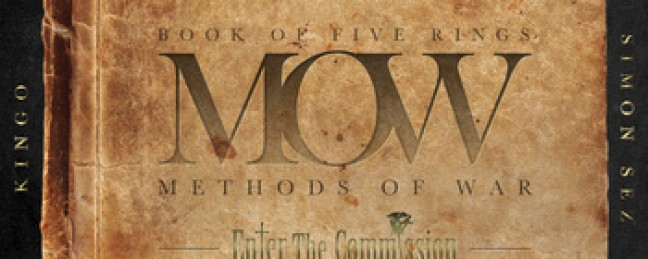 """Enter the Commission """"Book of Five Rings: Methods of War"""" [MIXTAPE]"""