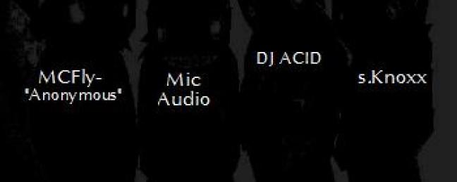 "MCFly (Anonymous) x Mic Audio x DJ ACID x Sacramento Knoxx ""The First 48"" (#BarGraphs2) (Prod. by sK)"