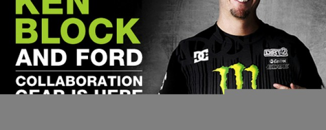 """Ken Block x DC Shoes x Ford"" Collabo"