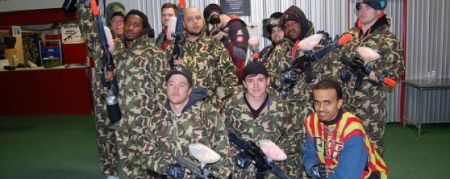 Paintball with Classified & Friends [THE COME UP SHOW]