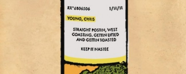 "Chris Young the Rapper ""Postin' Westcoastin'"""