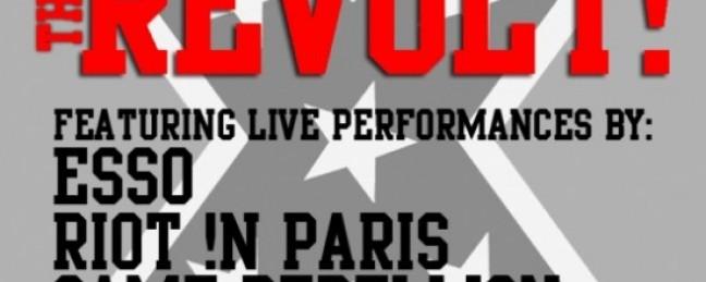 Esso, Game Rebellion, Cocoa Sarai / Right !n Paris @ Webster Hall