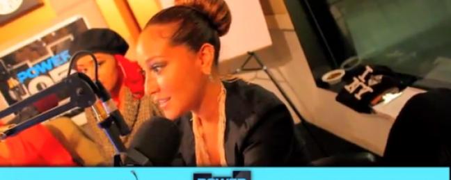 Power 105.1's Cherry Martinez Talks w/ Adrienne Bailon [VIDEO]