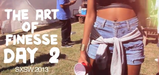 "The Art of Finesse ""SXSW Day 2.1″ ft. Hefna Gwap, Ice Rocks, & Dally Auston [VIDEO]"