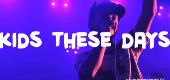 "The Art of Finesse @ SXSW ""Kids These Days – Live"" [VIDEO]"