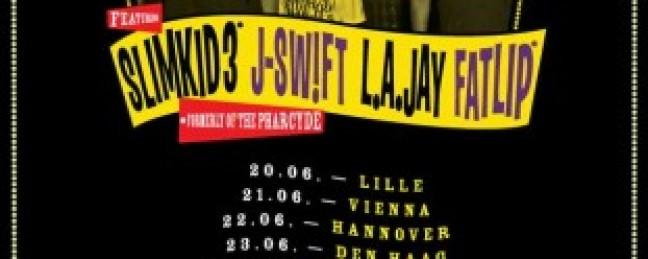 "Fatlip & Slimkid3 announce ""Bizarre Ride Live"" European Dates [SCHEDULE]"