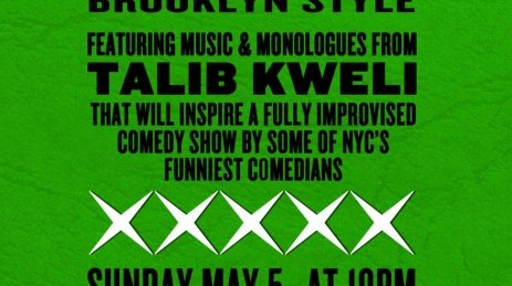 Hip Hop Improv Brooklyn Style ft. Talib Kweli (Presented by Cipha Sounds) [5/7]