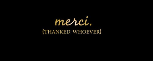 "Capital G ""Merci (Thanked Whoever)"" [DOPE!]"