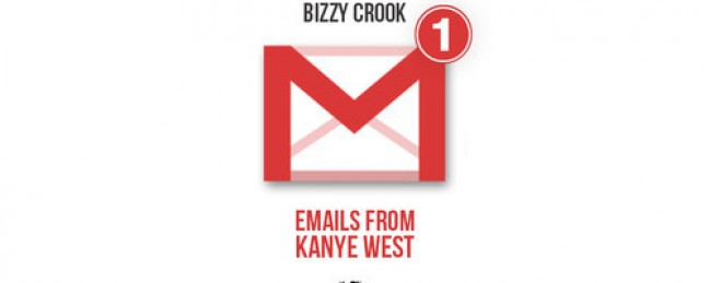 "Bizzy Crook ""Emails From Kanye West"" (Prod. by SkipOnDaBeat)"