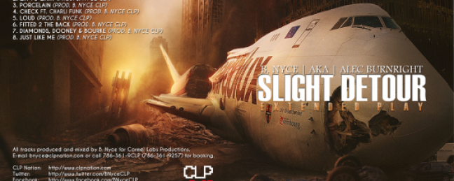 "Alec Burnright ""Slight Detour"" EP (Prod. by CLP Nation) [DOPE!]"