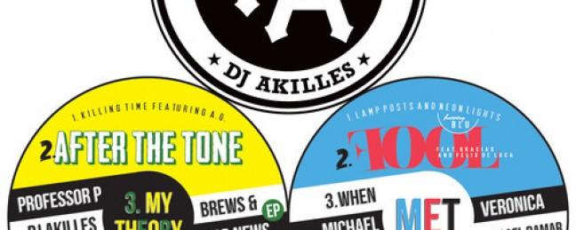 "Professor P & DJ Akilles ft. Blu ""Lamp Posts & Neon Lights"" [DOPE!]"