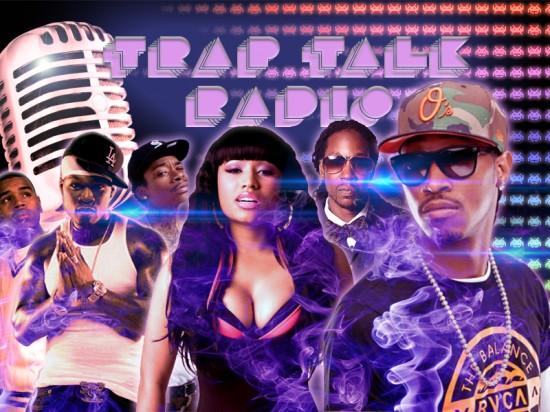 Trap Talk  Radio Logo