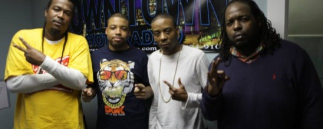 SKE Records Petter Jones & Q The Question stop by Grizzlee Radio! [VIDEO]