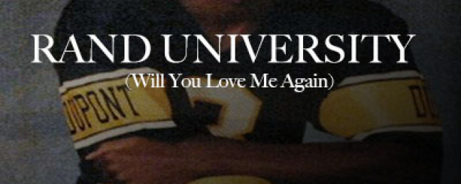 "Big Meats ""Rand University (Will You Love Me Again)"" (Prod. by Sabir) [DOPE!]"