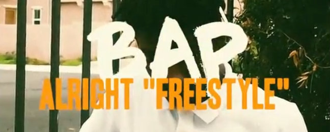New Video: King Bap – Alright (Freestyle)
