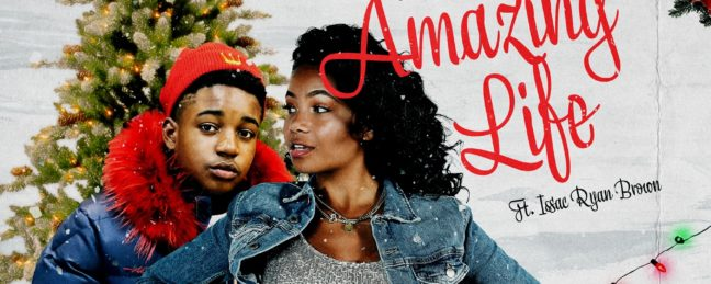 "Our Fave New Holiday Song? Brooklyn Queen x Issac Ryan Brown ""Amazing Life"""