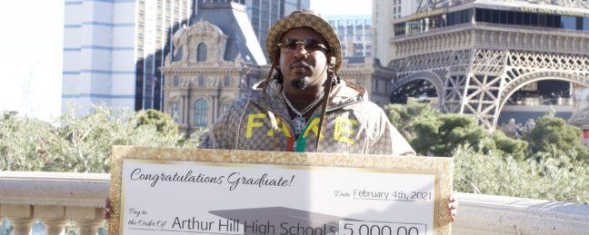 Rapper Corey Dollaz Creates $5000 Scholarship At Former High School
