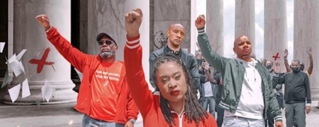 """People Are Comparing """"Powerful"""" by Grace Covington, Twyse, and Holy Smokes To Public Enemy's """"Fight The Power"""""""