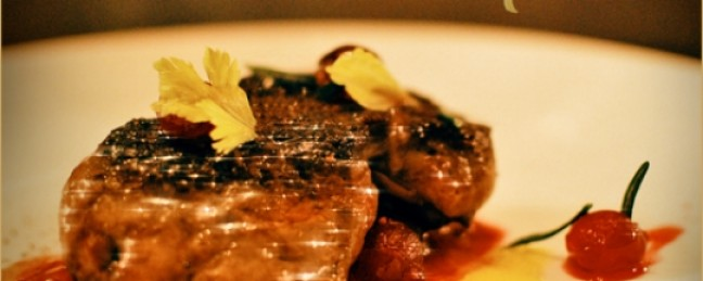 Seared Foie Gras with Quince & Cranberry Mixtape – Asher Roth